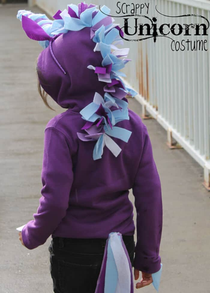 Scrappy Unicorn Costume by Twin Dragonfly Designs