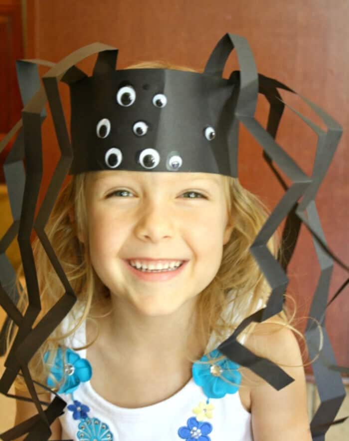 Spider Headband Craft by Fantastic Fun and Learning