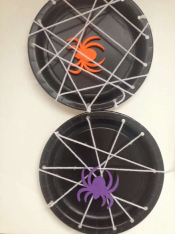 Spider Web Plates  by Annelily Design