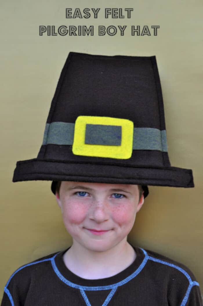 Thanksgiving Pilgrim Hat by Make Life Lovely