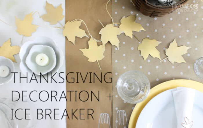 Thanksgiving Tablescape by Homemade by Carmona
