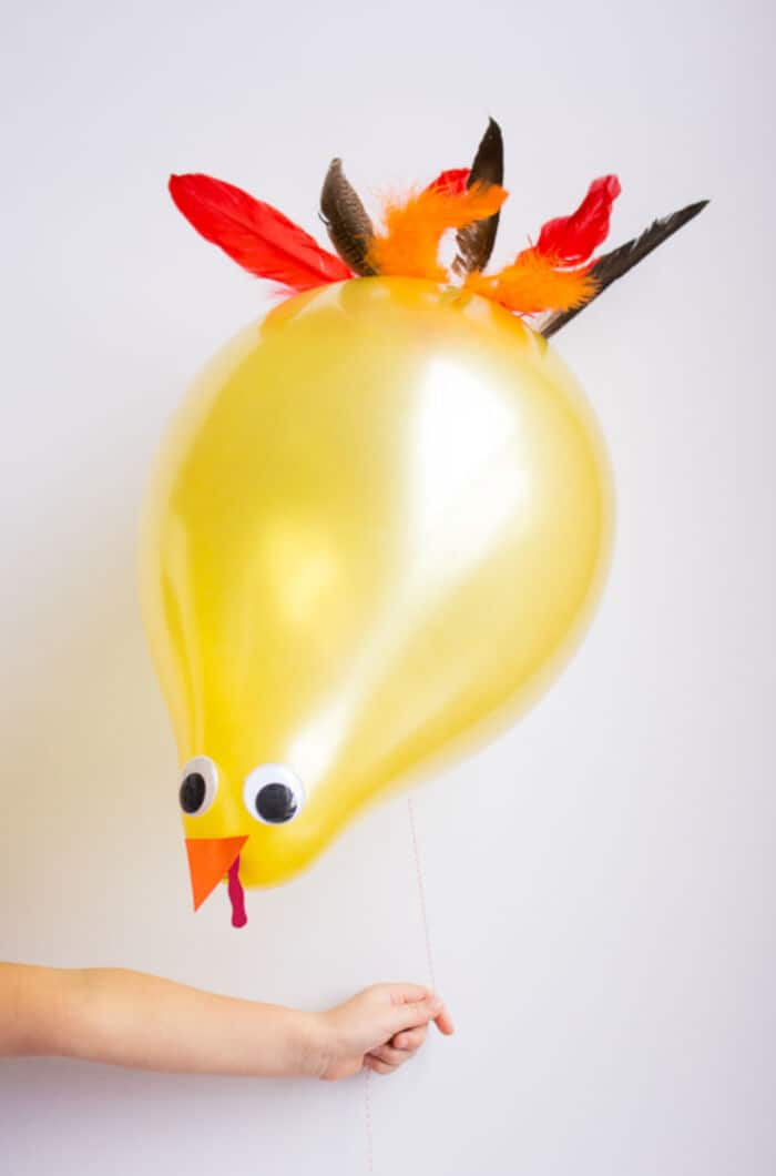 Thanksgiving Turkey Balloons by Design Improvised