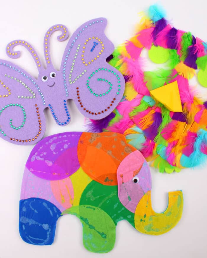Three-Ways-to-Decorate-Felt-Animal-Shapes-by-Hobby-Craft