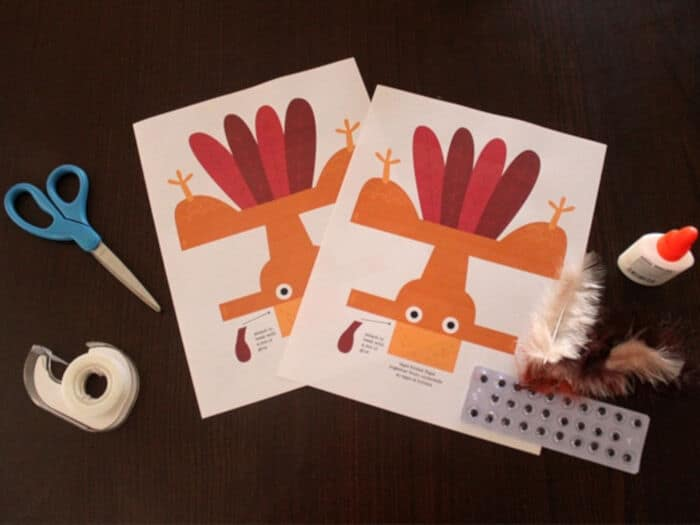 Turkey Puppet by Tori Avey