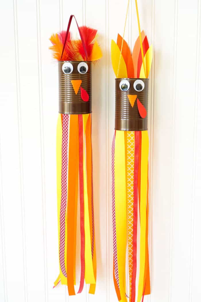 Turkey Windsocks by Happiness Is Homemade