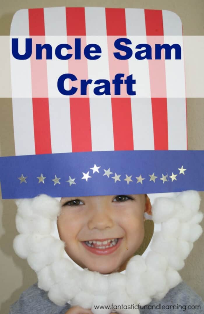Uncle Sam Craft by Fantastic Fun and Learning