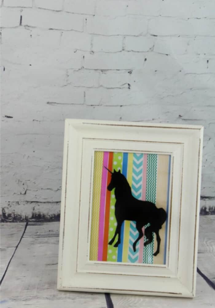 Washi Tape Unicorn Silhouette by Totally The Bomb