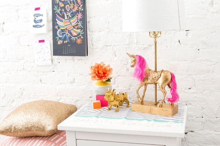 Yes, You Can Make the Unicorn Lamp of Your Dreams by Brit + Co