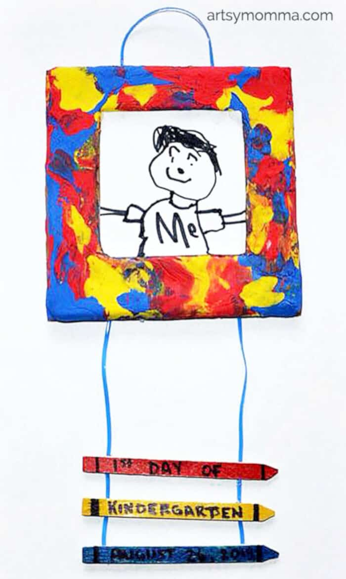 1st-Day-of-School-Picture-Frame-Craft-Keepsake-by-Artsy-Momma