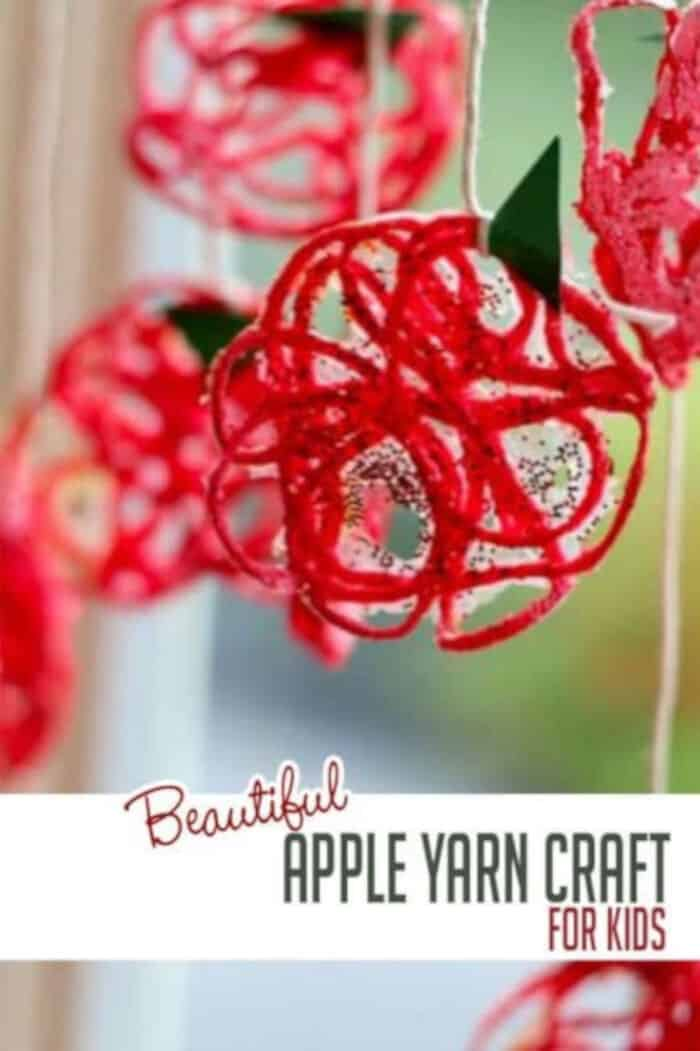 Beautiful-Yarn-Apple-Craft-for-Kids-to-Make-by-Hands-On-As-We-Grew