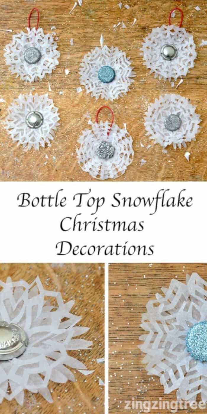Bottle-Top-Snowflake-Decorations-by-Blue-Bear-Wood