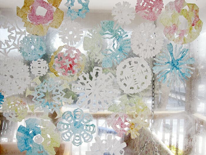 Coffee-Filter-Snowflakes-by-Artful-Parent