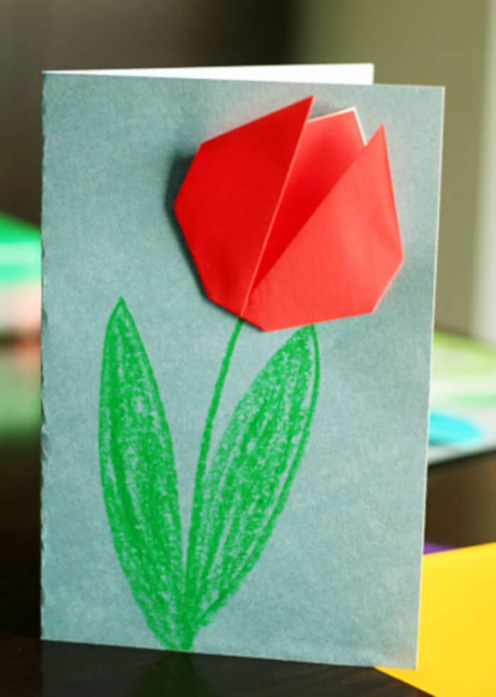 Create-Springtime-Art-with-Simple-Origami-Tulips-by-Make-and-Takes