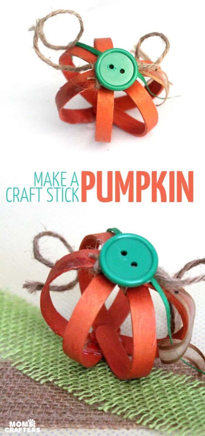 DIY-3D-Craft-Stick-Pumpkin-by-Moms-and-Crafters
