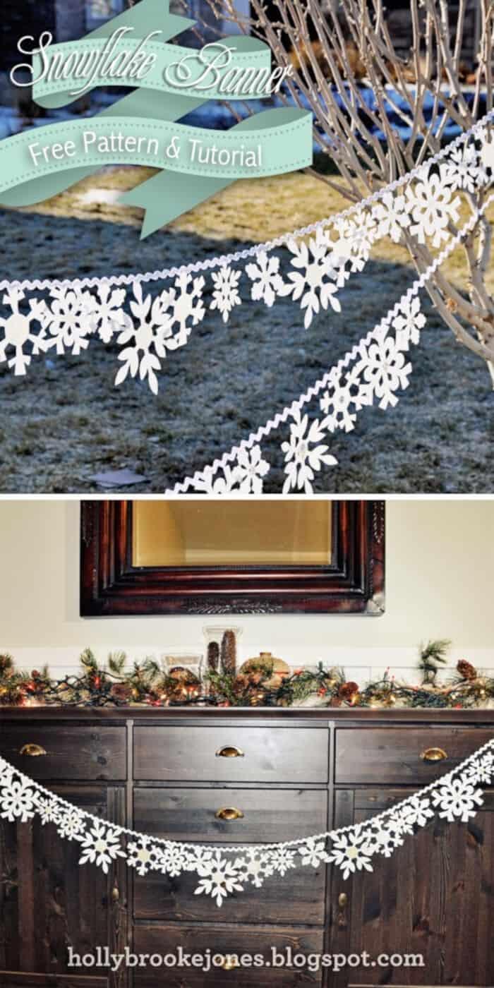 DIY-Felt-Snowflake-Banner-by-Holly-Brooke-Jones