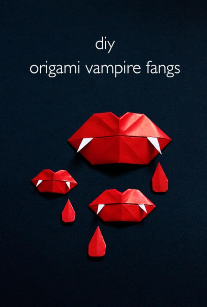 DIY-Origami-Vampire-Fangs-by-Vitamini-Handmade