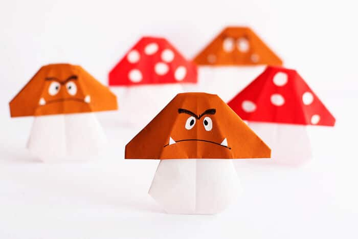 Easy-Mario-Mushroom-Origami-by-All-For-The-Boys