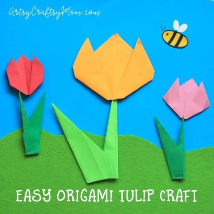 Easy-Origami-Tulip-Craft-for-Kids-by-Artsy-Craftsy-Mom