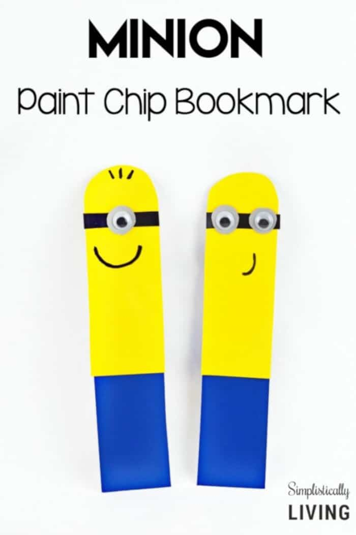 Easy-Paint-Chip-Minion-Bookmark-by-Simplistically-Living