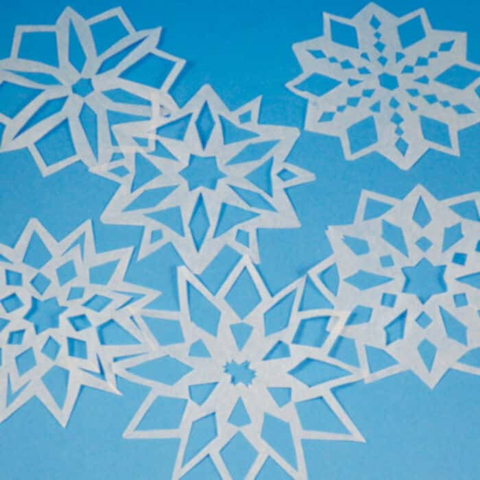 Easy-Paper-Snowflakes-by-Aunt-Annies-Crafts