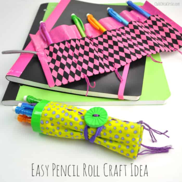 Easy-Pencil-Craft-Idea-for-Back-to-School-by-Chica-Circle