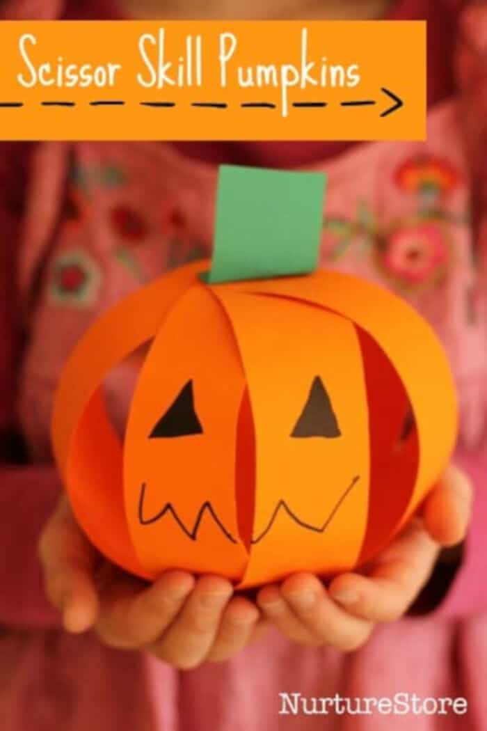 Easy-Pumpkin-Craft-for-Scissor-Skills-by-Nurture-Store