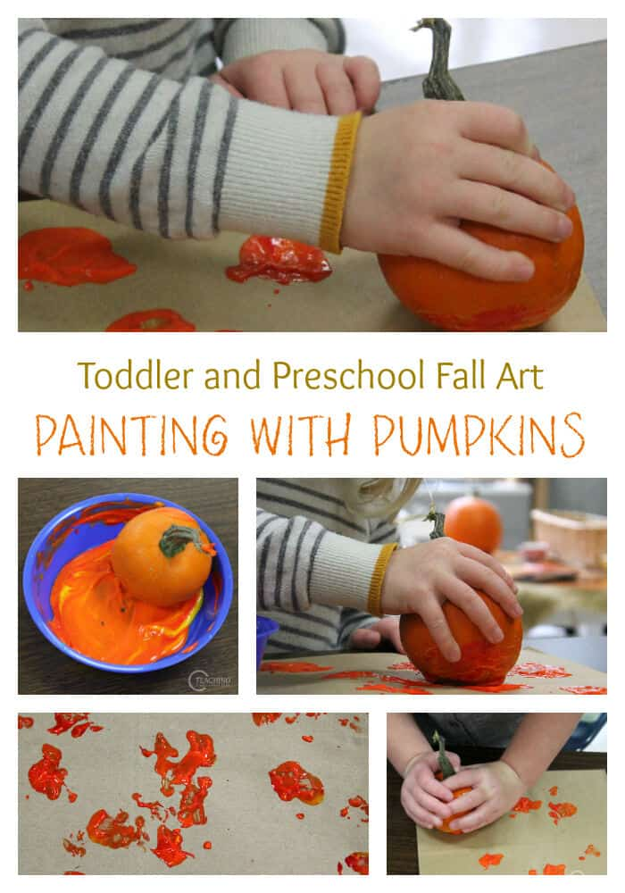 Easy-Pumpkin-Painting-for-Toddlers-and-Preschoolers-by-Teaching-2-and-3-Year-Olds