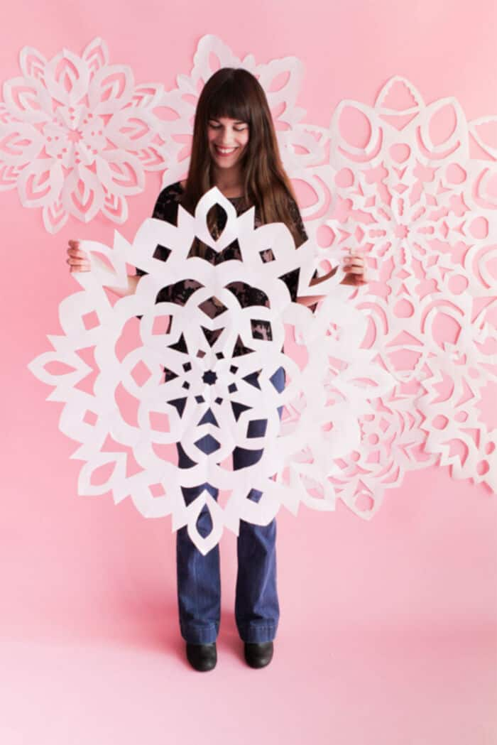 Giant-Paper-Snowflakes-by-Oh-Happy-Day