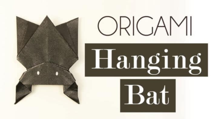 Hanging-Origami-Bat-for-Halloween-by-Paper-Kawaii