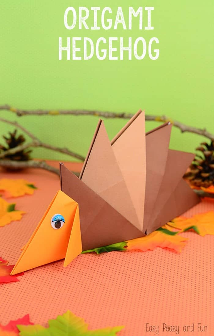 Hedgehog-Origami-For-Kids-by-Easy-Peasy-and-Fun