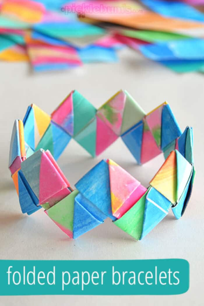 How-to-Make-Folded-Paper-Bracelets-by-Picklebums