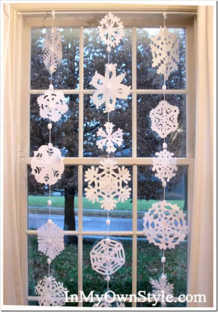 How-to-Make-Paper-Snowflakes-Into-a-Window-Curtain-by-In-My-Own-Style