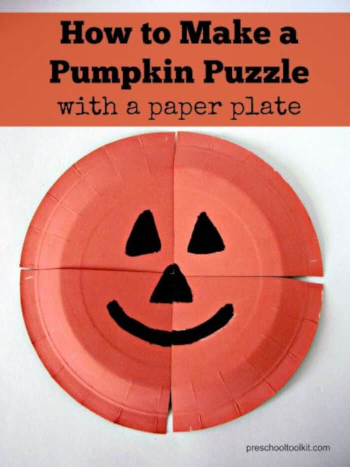 How-to-Make-a-Pumpkin-Puzzle-with-a-Paper-Plate-by-Preschool-Toolkit