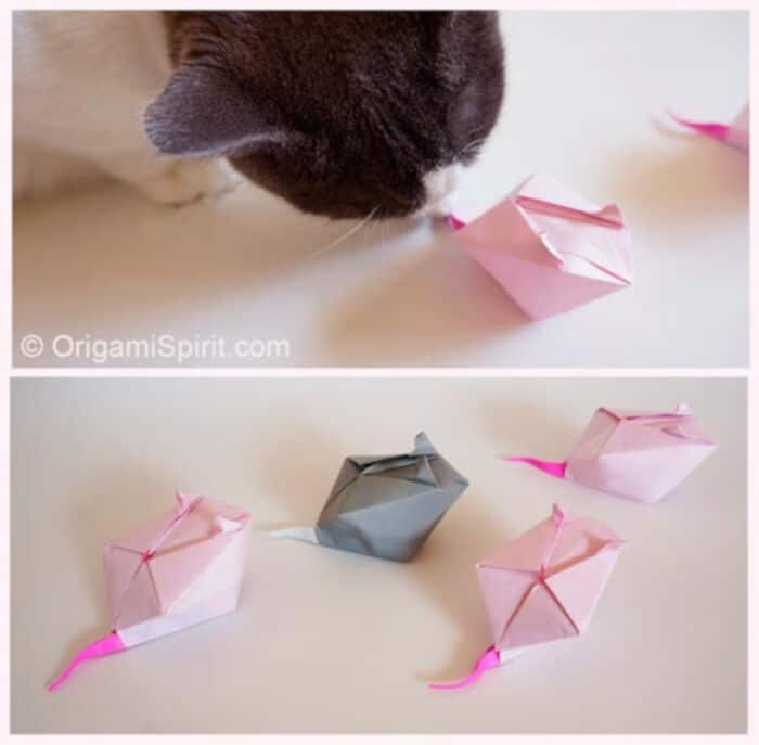Make-an-Origami-Mouse-for-Your-Cat-by-Origami-Spirit