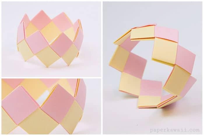 Modular-Origami-Bracelet-Tutorial-by-Paper-Kawaii