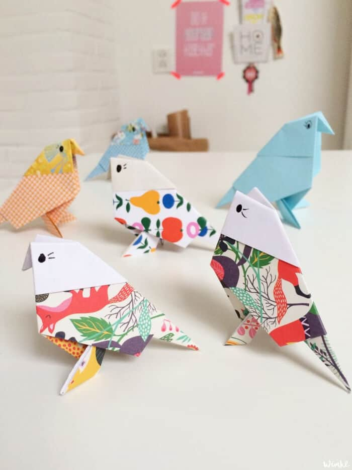Origami-Birds-Maken-by-WIMKE
