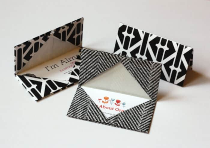 Origami-Business-Card-Holder-by-How-About-Orange