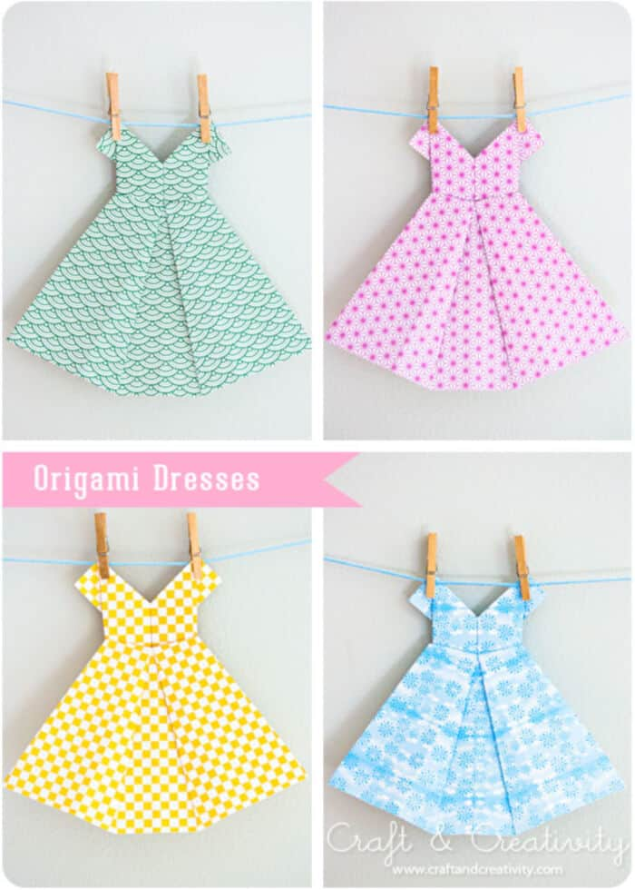 Origami-Dresses-by-Craft-and-Creativity