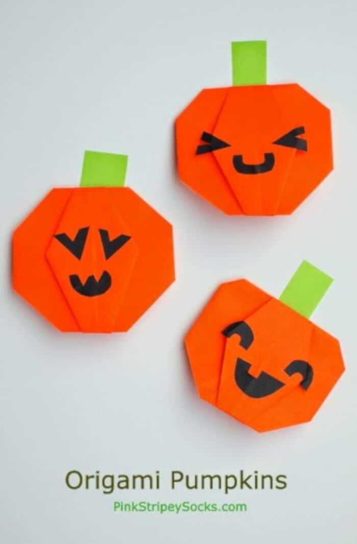 Origami-Jack-O-Lantern-Pumpkin-by-Pink-Stripey-Socks