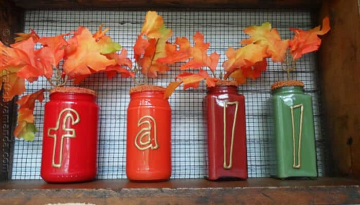 Paint-Coated-Jar-Vases-for-Fall-by-Crafts-by-Amanda