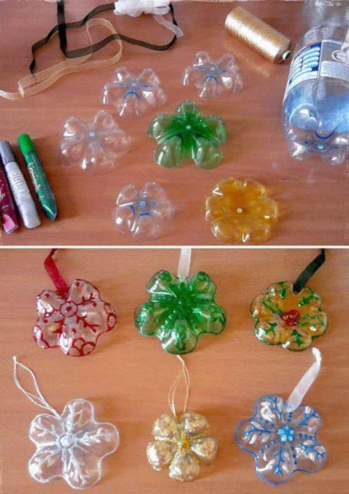 Plastic-Bottles-Into-Snowflake-Ornaments-by-DIY-Cozy-Home