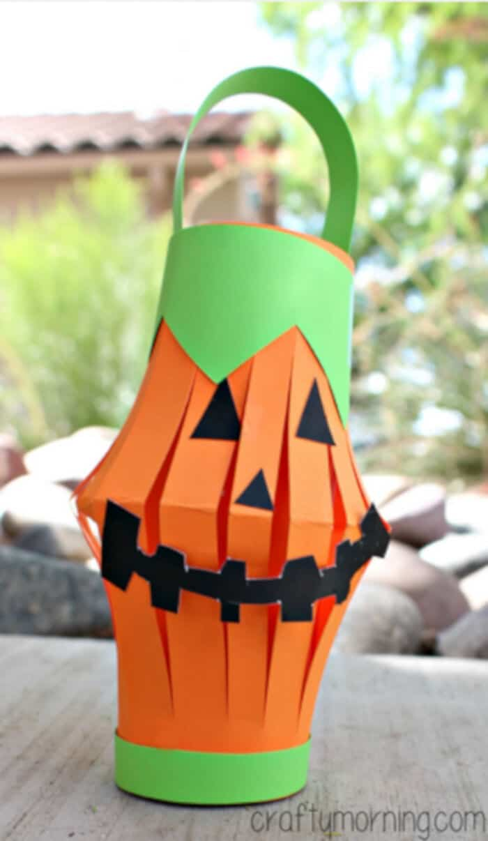 Pumpkin-Toilet-Paper-Roll-Lantern-Craft-by-Crafty-Morning