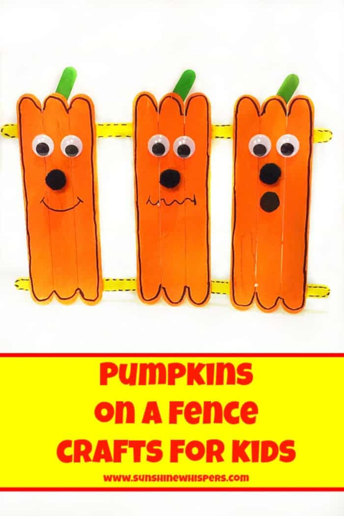 Pumpkins-on-a-Fence-Crafts-for-Kids-by-Sunshine-Whispers