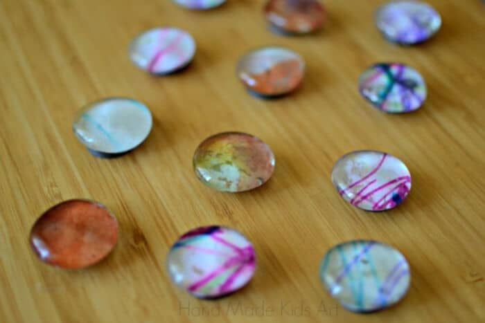 Recycled-Art-Magnets-by-Kids-STEAM-Lab