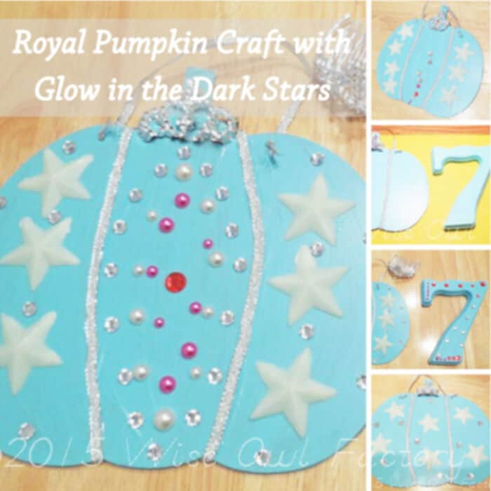 Royal-Pumpkin-Craft-with-Glow-in-the-Dark-Stars-by-The-Wise-Owl-Factory