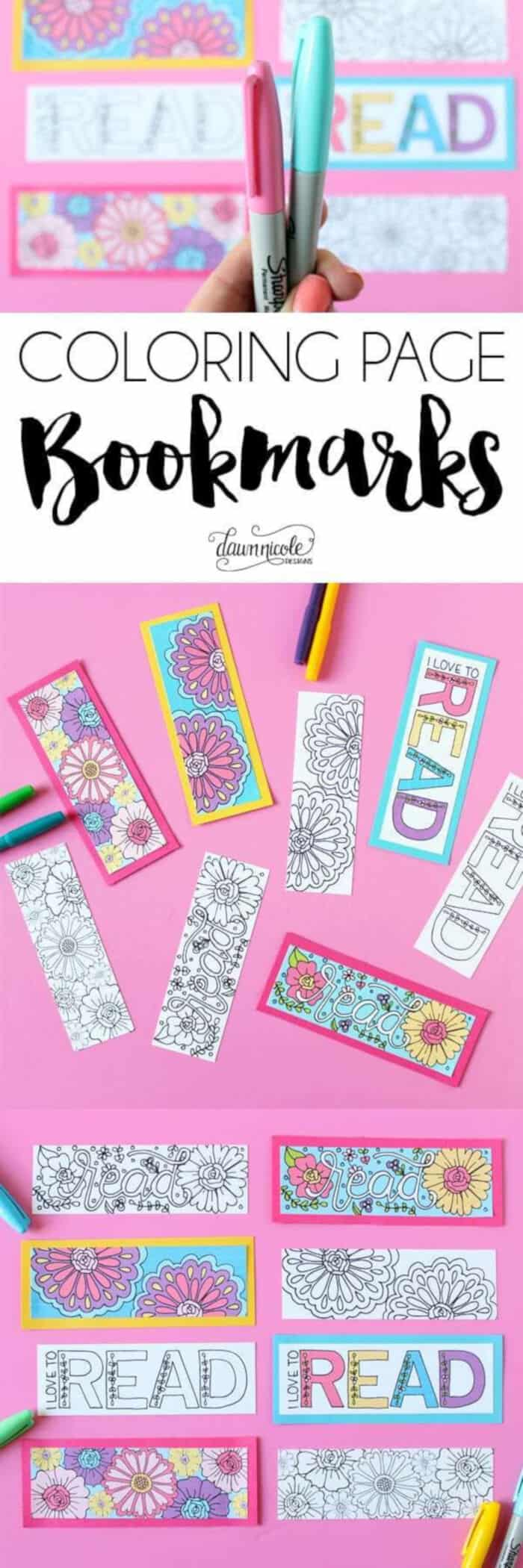 Summer-Coloring-Page-Bookmarks-by-Dawn-Nicole