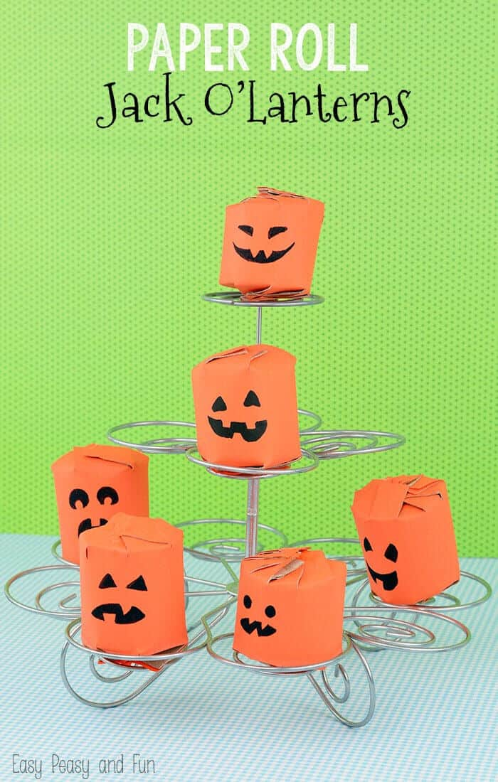 Toilet-Paper-Roll-Pumpkins-by-Easy-Peasy-and-Fun