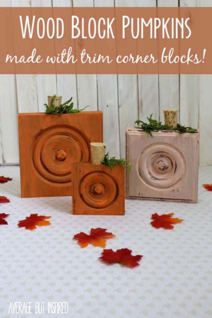 Wood-Trim-Corner-Block-Pumpkins-by-Average-But-Inspired