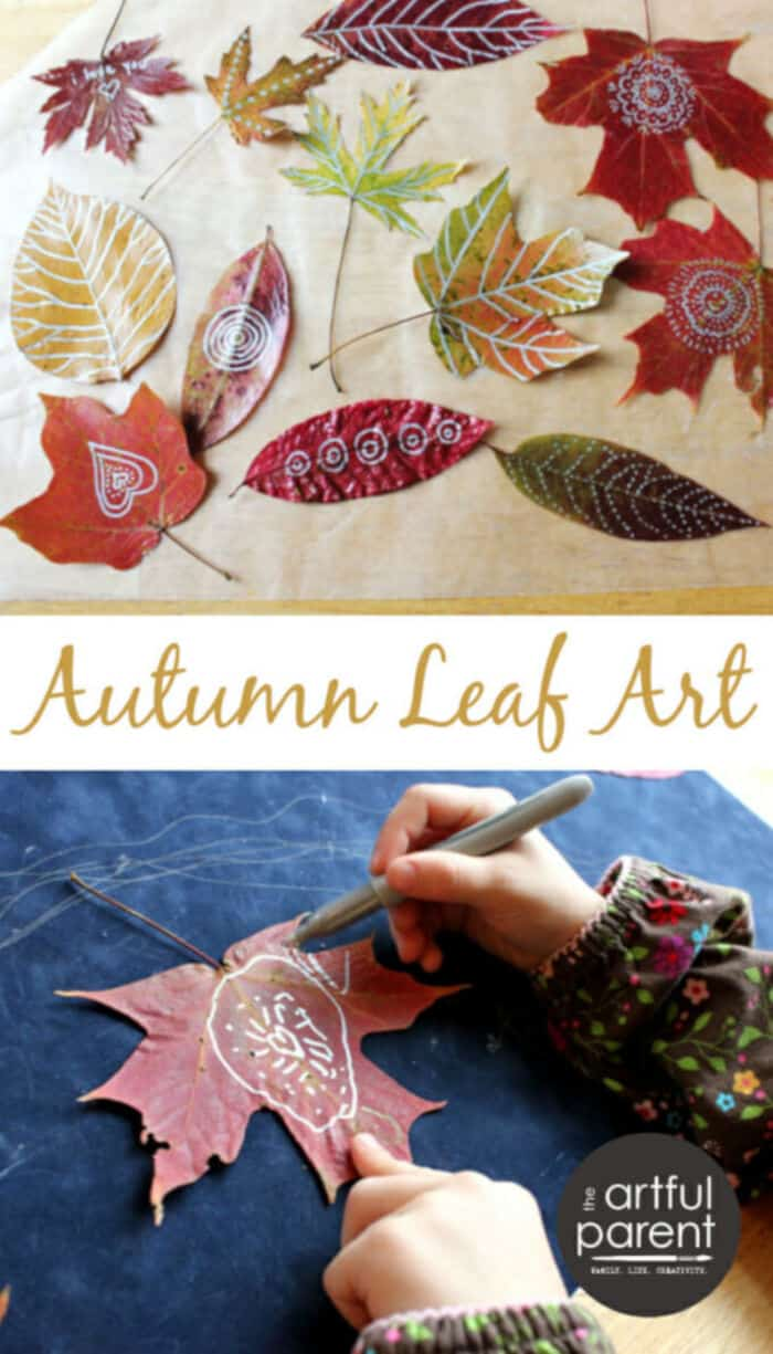 Autumn-Leaf-Art-by-Artful-Parent