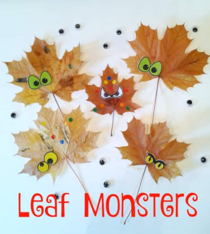 Autumn-Leaf-Monsters-by-Crafty-Kids-at-Home